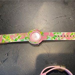 Lilly Pulitzer watch set